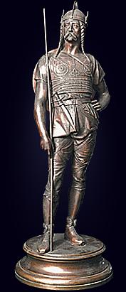 Скульптура «Викинг»