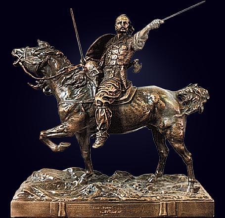Скульптура «Князь Святослав»