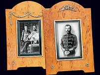Рамка для фотографии из карельской березы