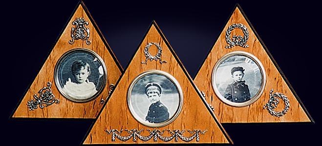 Треугольная рамка для фотографий