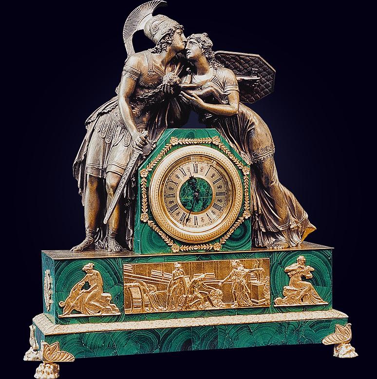 Часы «Прощание Гектора с Андромахой»