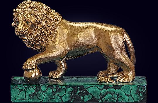 Пресс-папье «Лев»