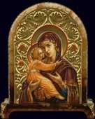 Настольная икона «Богоматерь Владимирская»