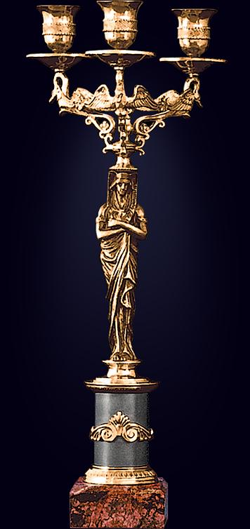 Канделябр «Египтянка»