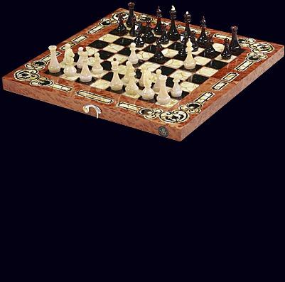Шахматы из вавоны «Арабески Марин»