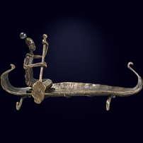 Ювелирная композиция «Путешественник» из серебра