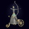 Ювелирная композиция «Стрелец» из серебра